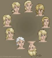 Many Link hairstyles by Filiana