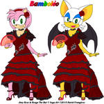 Flamenco Dancer Amy and Rouge - Bamboleo by tpirman1982