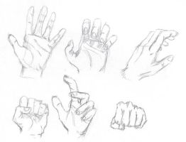 Hands - Sketch by funksoulfather