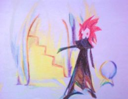 Namine Sketchbook: Axel by YumtasticMint