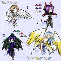 ~Angel and Demon Adoptable Auction~ ::Closed:: by chibi-adopts18