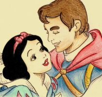 Snow White And The Prince. by LilNikiwi