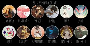 2016 ART SUMMARY by FootyBandit