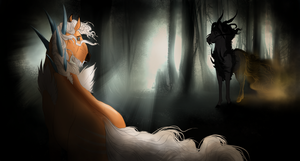 A lullaby in the Woods by Elemes