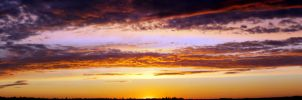 Panoramic sunset 1 by Laurilasner