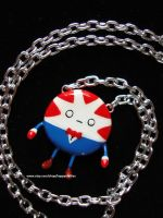 Peppermint Butler Necklace by prettypetals