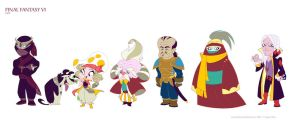 more Final Fantasy VI by potatofarmgirl