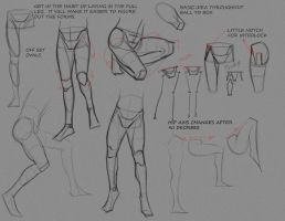 Simple Leg Notes P2 by FUNKYMONKEY1945