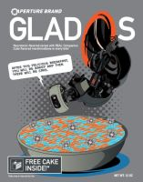 GladOs Cereal Tee Design by xkappax