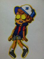 Zombie dipper by Aseret15