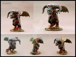 BALROG mini Demon by buzhandmade