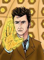 10th Doctor David Tennant by phymns