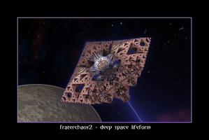 fraterchaos2 - deep space lifeform by fraterchaos