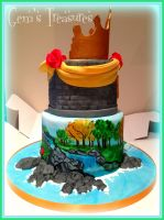 Disney Princess Birthday Cake by gertygetsgangster