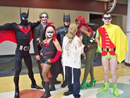 Megacon 2011: BATMAN GROUP by OhSweetSerenity71892