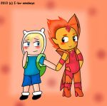 Flaminn- Chibi love by I-Luv-Emoboys