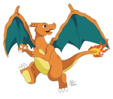 006 Charizard by meleemonkey