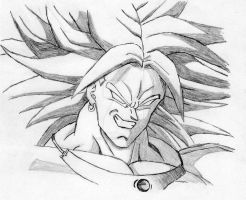 Broly by GrimmjawJack