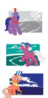 MLP FiM Style Big Brothers by Inspectornills