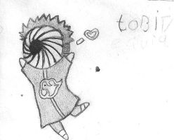 happy chibi tobi by sashema