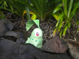 Chikorita PaperCraft by ElvisDitto