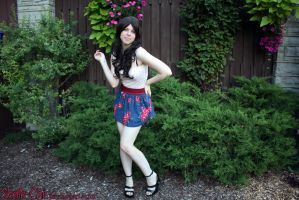 Casual Beauty Shoot by shelle-chii