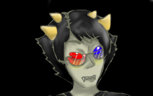 More Sollux ouo by AshesAshesFalling