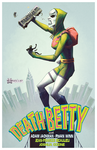 Death Betty takes on NYCC 2015 Exclusive Print by RyanWinn