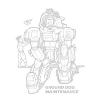 Ground Dog Maintenance by archaznable30