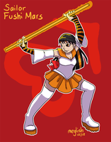 Sailor Fushi Mars for Bekuki by meglish