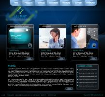 Alliant infosys tempate 03 by drmaxmad