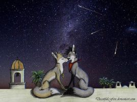 A Kiss Goodnight by Deceitful-Fox
