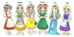 Kat's Dinner Party for 6 by hobbit-katie