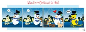 2007 Christmas Card by dhulteen