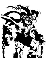 First yugioh mat stencil by Tatsumaki-Wind