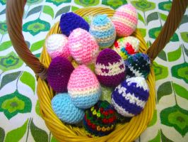 Easter Egg Basket by Chromodoris