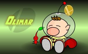 SSBB Plush: Olimar by Toxic-Eye