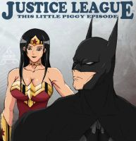 Justice League - Batman Wonder Woman by kurotsuchi-666