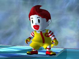 Ronald McLucas by nintenerd