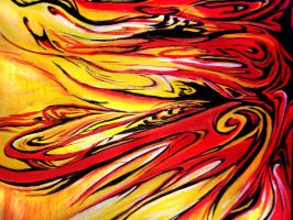 abstract fire by blacklemons