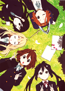 K-ON! by MaronJeanne