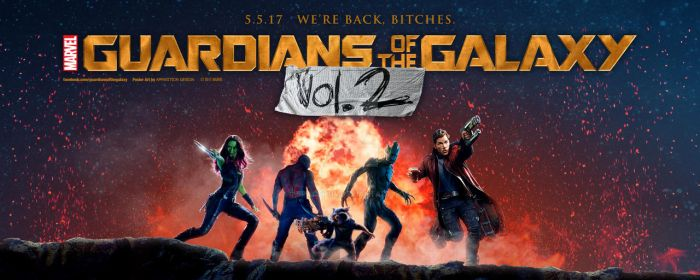 Guardians of the Galaxy: Vol. 2 - Teaser Banner by spacer114
