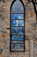 Church Stained Glass Window 2 by FairieGoodMother