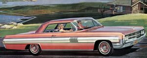 After the age of chrome and fins: 1962 oldsmobile by Peterhoff3