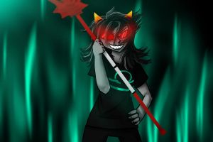 Terezi Pyrope by Judgement-and-Geckos