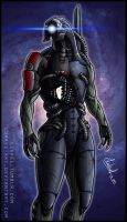 Mass Effect: Legion by Lukael-Art