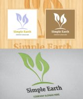 Simple Earth - Logo Template by JamesRuthless