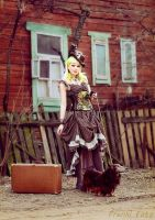 Steampunk Lady 2 by 13-Melissa-Salvatore