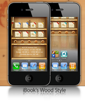 iBook's Wood Style by GekoRepoz