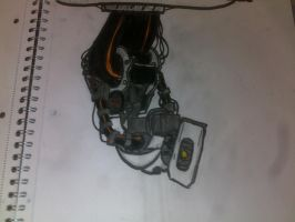 GLaDOS from memory again by AdmiralNuke